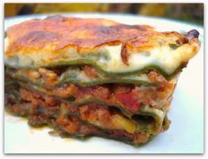 lasagne verde au four
