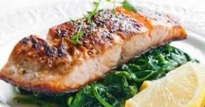 saumon cuit a lail