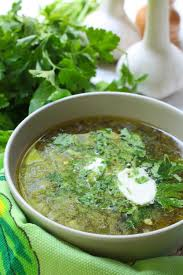 soupe fines herbes