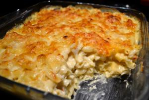 macaroni sauce fromage