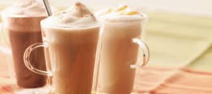 milkshake chaud vanille et caramel