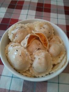ravioli patate douce
