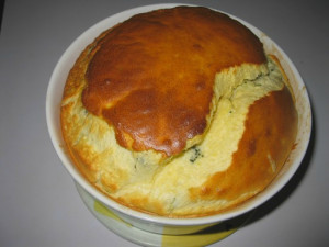 souffle brocoli fromage